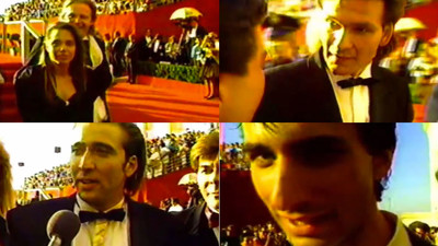 This Guy Filmed Himself Sneaking onto the Red Carpet at the 1988 Academy Awards