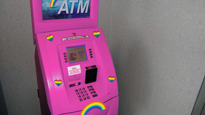 Queer Activists Vandalised a 'Gay' ATM in Auckland