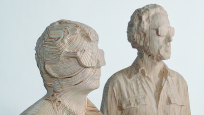 An Artist Unmasked Daft Punk for a New Sculpture Series