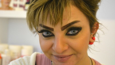 Iraqi Women Are Getting Tattooed 'Scouse Brows' to Deal with the Stress of War