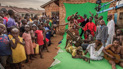 A Ugandan Filmmaker's Quest to Conquer the Planet with Low-Budget Action Movies