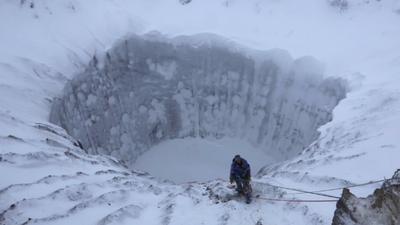 Climate Change Might Be Causing These Huge Craters in Siberia