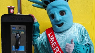 What's It's Like to Get Paid to Stand Outside in a Statue of Liberty Outfit