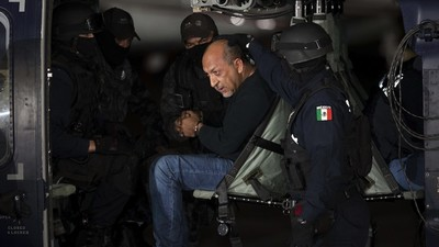 Mexican Drug Lord Lived in a Cave and Was Caught Because His Girlfriend Brought Him Birthday Cake
