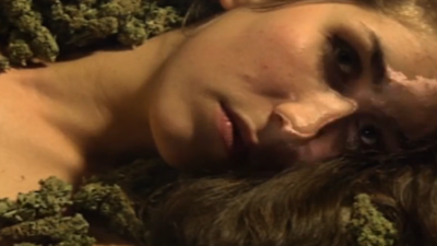 VICE Exclusive: Eartheater Gets Naked and Melts into a Bed of Weed in Her New Video