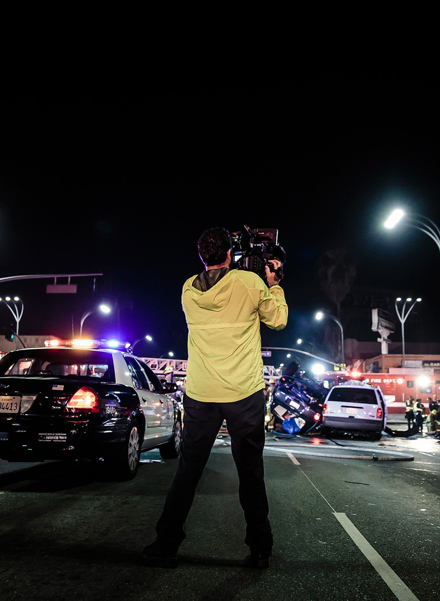 Photographing LA's Nightlife of Crime and Trauma