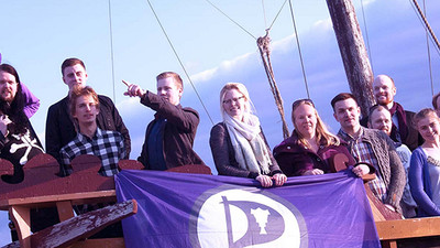 The Pirate Party Is the Most Popular Political Party in Iceland