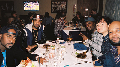 Mit G-Unit im Steakrestaurant