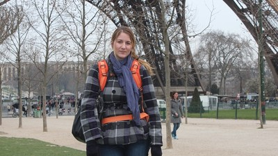 We Asked Tourists In Paris If They Noticed That the Eiffel Tower Was 'Shrouded in Smog'