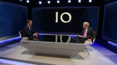 David Cameron and Ed Miliband Said Nothing Worthwhile in the 'Battle for Number Ten'