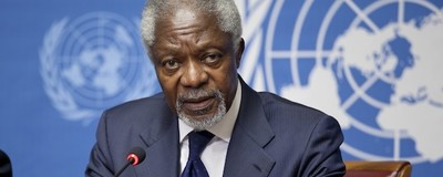 Kofi Annan: The War on Drugs Has Failed in West Africa and Around the World
