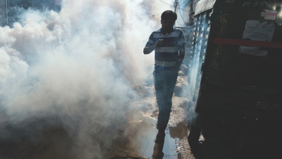 Fiebre de dengue en India