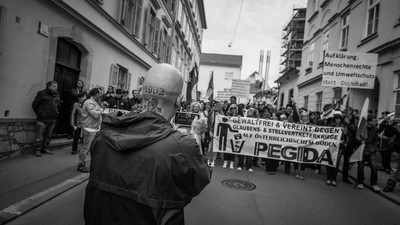 Pegida in Graz – Die Fotos