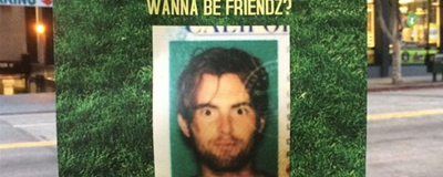 Meet the Guy Who Tried to Make Friends by Putting Up Fliers in LA