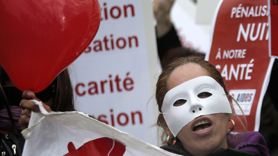 French Senators Vote to Screw Over Prostitutes – But Not Their Johns