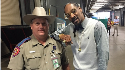 Cry-Baby of the Week: A Cop Was Ordered to Get Counseling After Posing for a Photo with Snoop Dogg