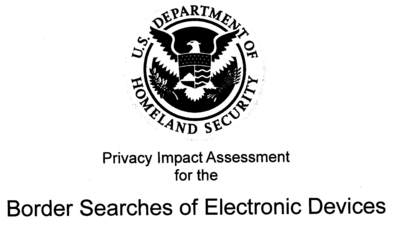 The US Gov Can Download the Entire Contents of Your Computer at Border Crossings