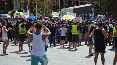 Who Won the Reclaim Australia Rally in Brisbane?