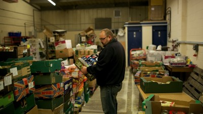 A Trip to Britain's Busiest Food Bank