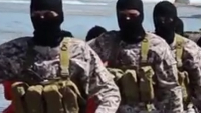 Gruesome Islamic State Video Purportedly Shows Mass Killing of Ethiopian Christians
