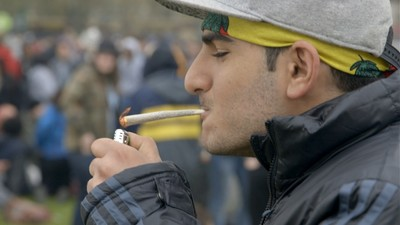 We Watched London's Weed Fanatics Getting Arrested in Hyde Park for 4/20