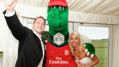 Gunnersaurus Explained: The Guy Who Dreamt Up Arsenal's Mascot