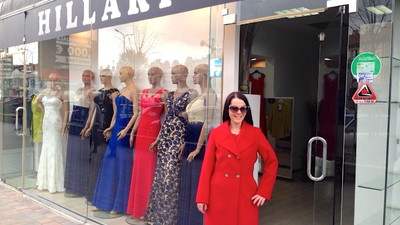 We Visited the Clothes Store in Kosovo That's Dedicated to Hillary Clinton's Style