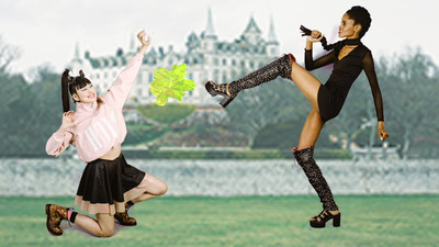 Play Our Interactive 'Street Fighter' Fashion Shoot