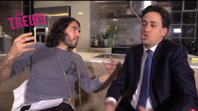 Russell Brand and Ed Miliband: Comparing Their Revolutionary Rhetoric