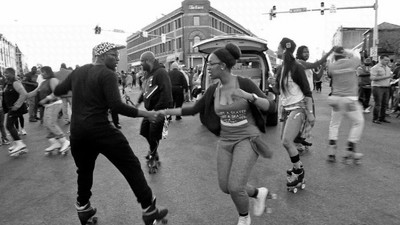 Meet Baltimore's Peacekeeping Roller Skaters