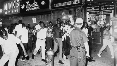 Race Riots, Then and Now