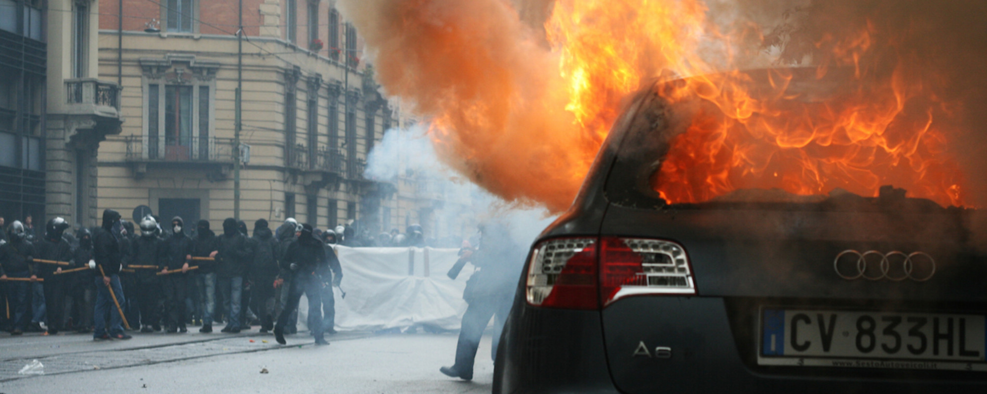 In Photos: Milan's May Day 'No Expo' Riots