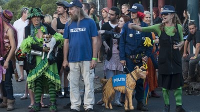 Hanging Out With the Weed Police at Nimbin's MardiGrass Festival