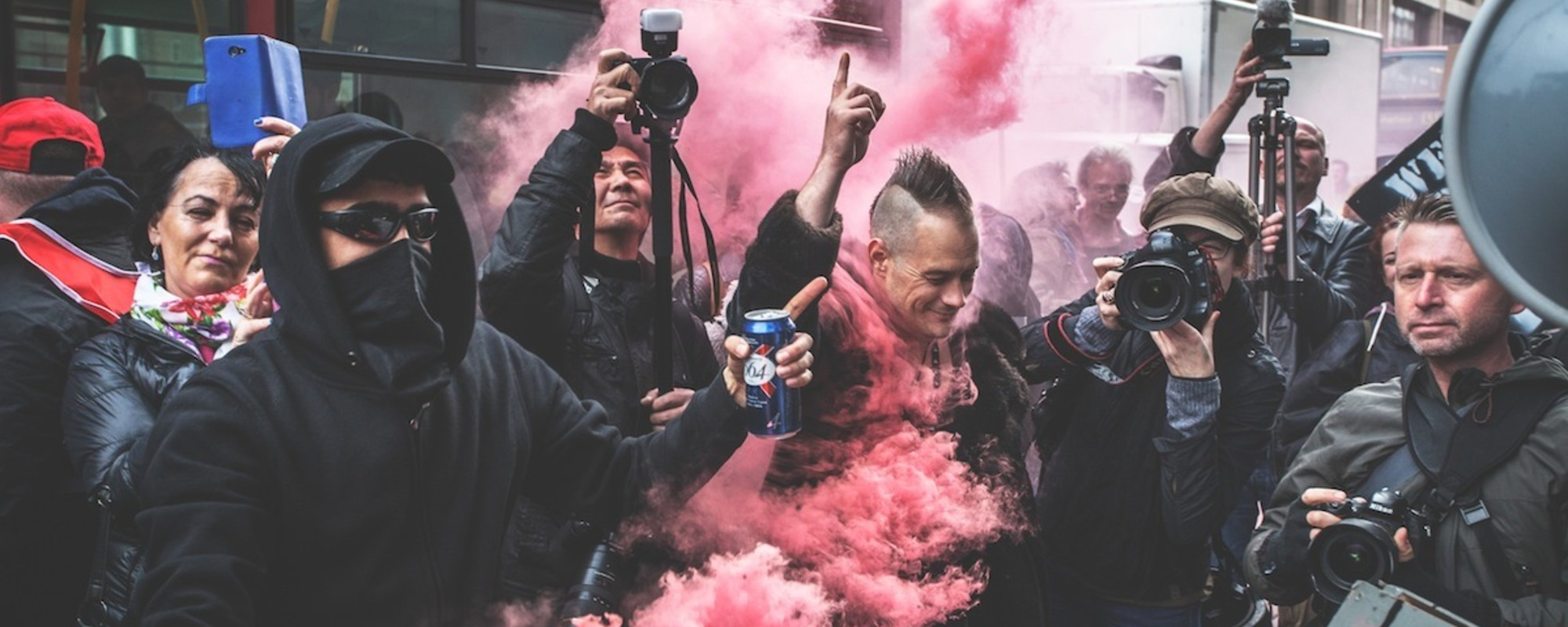 London's Anarchists Celebrated May Day By Holding a Riot-Party
