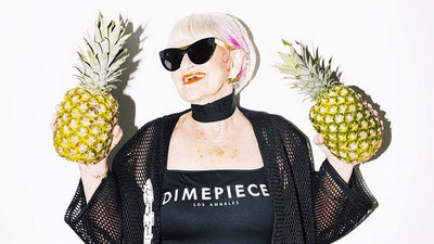 We Talked to Instagram Granny Baddie Winkle About Fashion, Acid, and Being Buds With Miley
