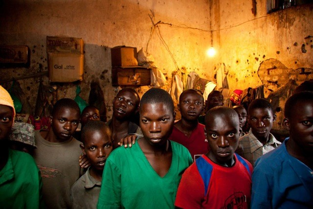Child Prisoners, Ruyigi district prison, Burundi
