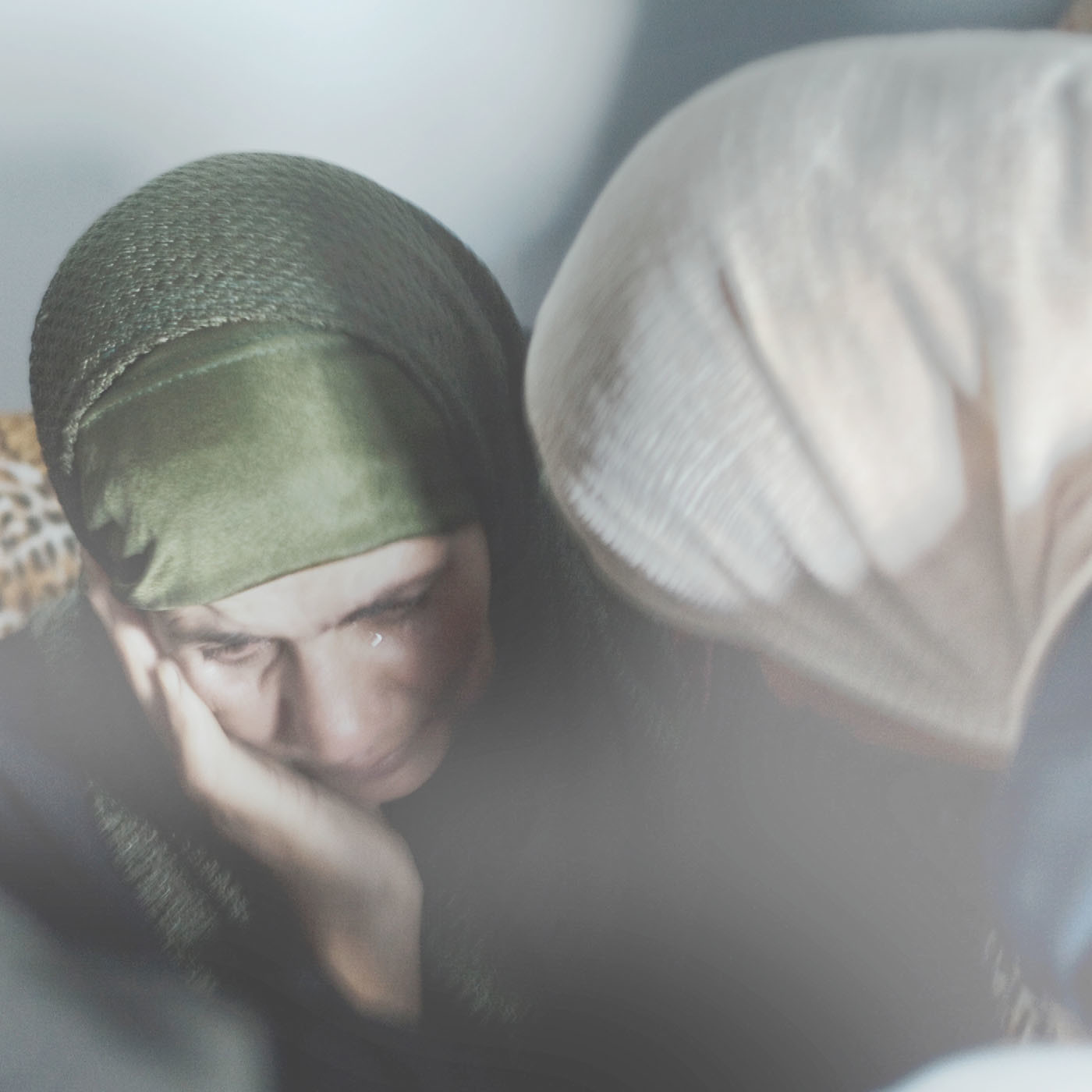 The grieving mother of a 17-year-old Palestinian boy who was shot in the back after stabbing an Israeli soldier at a checkpoint, 2008.
