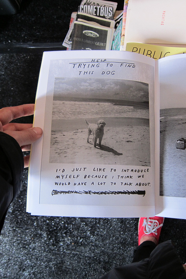 A book at the Needles and Pens table, anyone know the author?