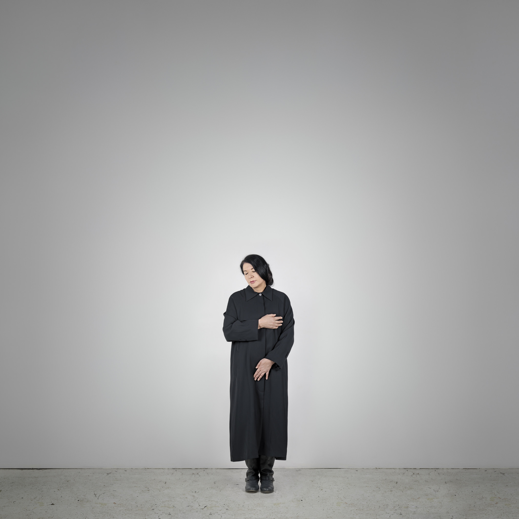 Marina Abramović, Measuring Body Heat, from the series, With Eyes Closed I See Happiness, 2012
