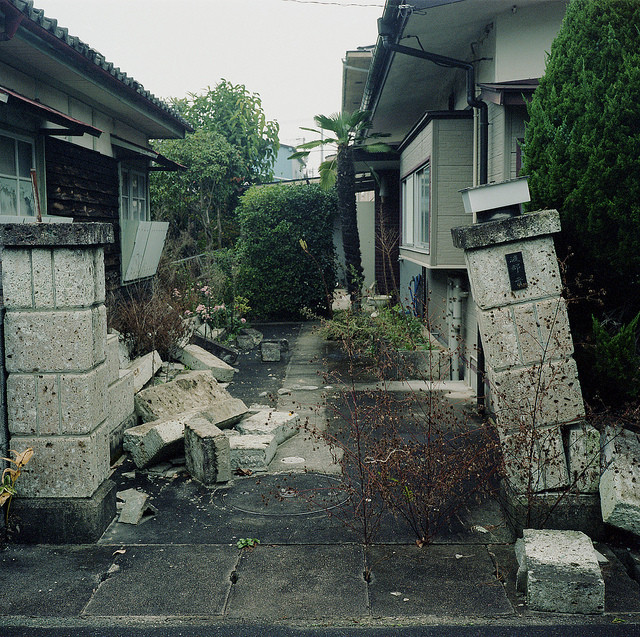 Toshiya's family home, seven months after the tsunami and the ensuing evacuation.
