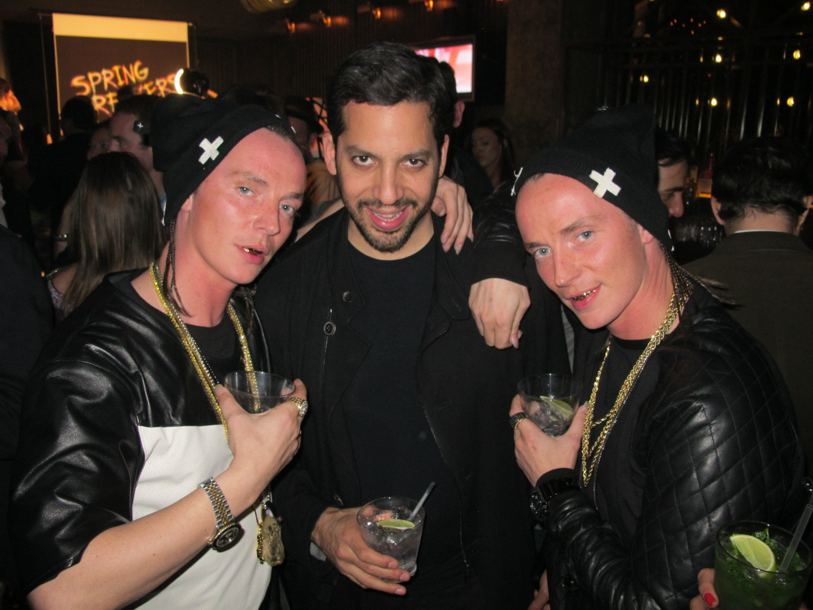 David Blaine is becoming a really special friend to us, thanks to Harmony Korine! He's got chicks all over the world convinced he's the leader of the Illuminati and possibly even the devil himself! He's blown our minds with his magic many times!