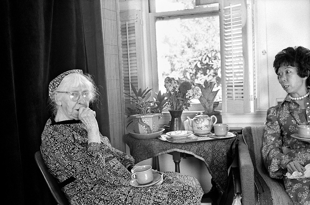 Aunt Lucy and Imogen Cunningham