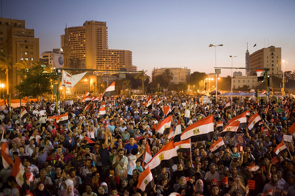 Protests started on June 26, days before the expected, large-scale protests on June 30, President Mohammed Morsi's one-year anniversary in office.