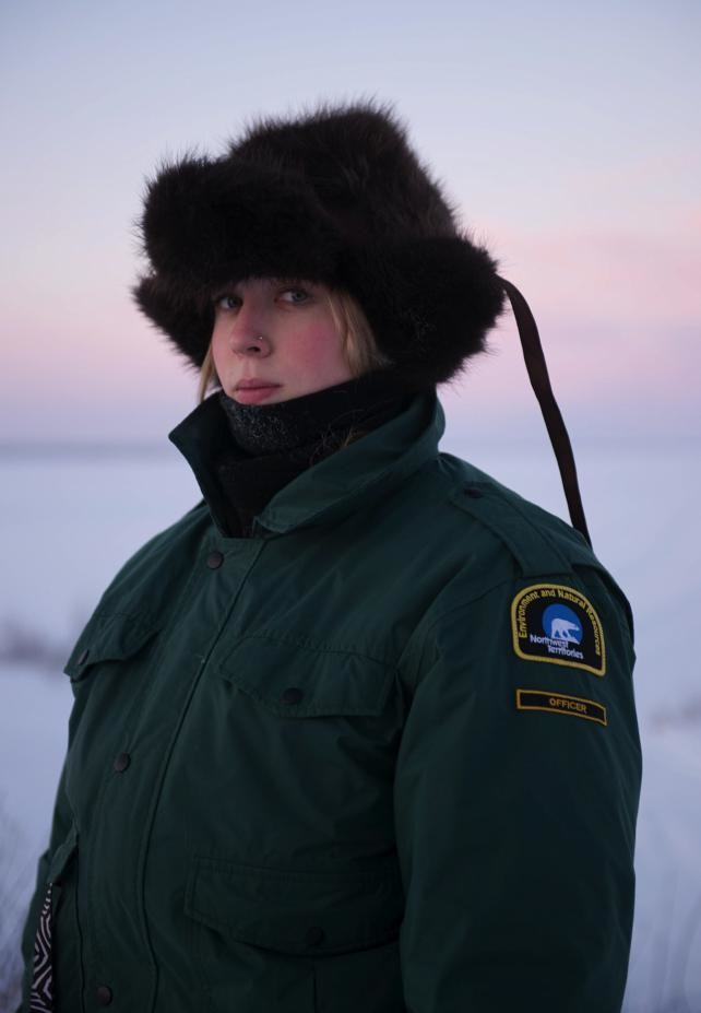 GNWT Wildlife Officer, Marti Lys.