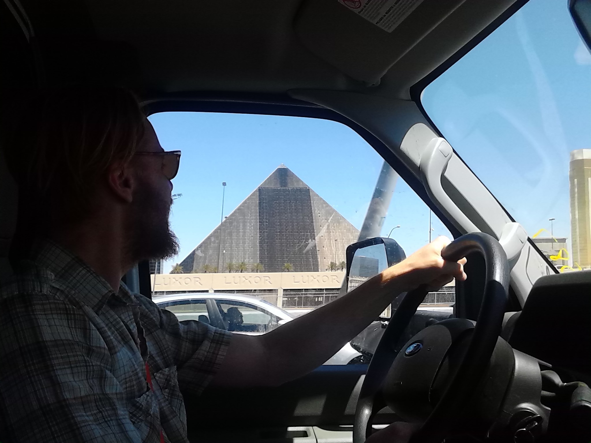 The Pyramid in Vegas felt like a bizarre mirage.