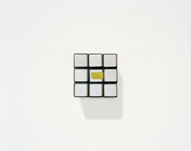 Rubik's cube belonging to ESA astronaut Jean-François Clervoy, flown on all three of his space missions