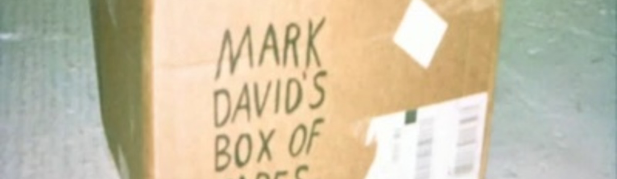 Mark David's Box of Tapes